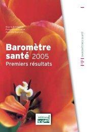 Baromètre santé 2005 - Premiers résultats - ama.lu a.s.b.l.