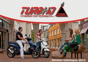 Scooter Catalogue 2013 - Turbho