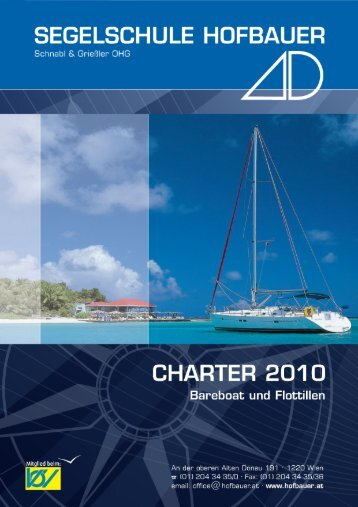 Charter 2010_Cover - Hofbauer Cup