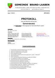 GR-Protokoll 10058-2 (142 KB) - .PDF - Brand-Laaben