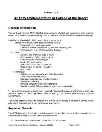 CPC Handbook - Appendix F AB1725 Implementation
