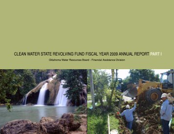 clean water state revolving fund fiscal year 2009 annual report part i