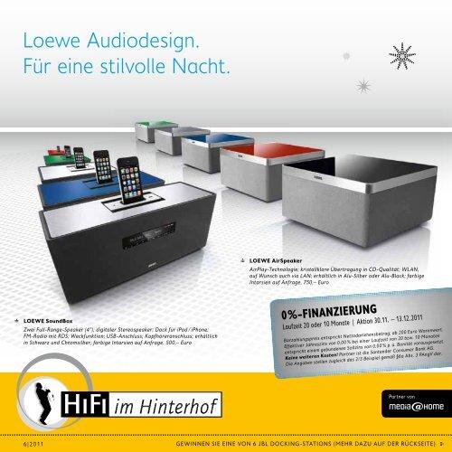 Loewe Audiodesign Fur Eine Stilvolle Nacht Hifi Im Hinterhof