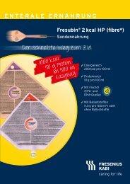 Folder Fresubin® 2 kcal HP (fibre) - Fresenius Kabi Austria GmbH