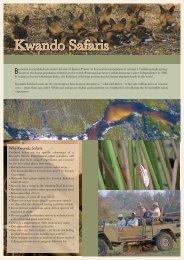 Kwando front - Going Africa Safaris