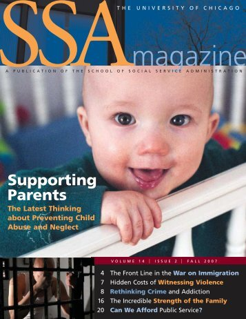 Supporting Parents - School of Social Service Administration