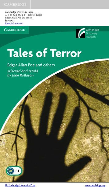 Tales of Terror - Cambridge University Press