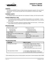 Flasher 3250 Owner's Manual lite for fax - Vanner