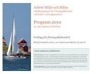 Program - under arbete – internt arbetsmaterial - Göteborgs universitet