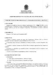 Ordem de Serviço Nº 08 - SI.2 / 2ª SCh, de 14 de junho de 2012