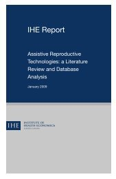 Assistive Reproductive Technologies: A Literature Review and ...