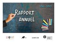 Rapport annuel 2011-2012 - Commission scolaire de Montréal