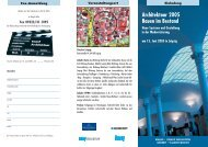 Architektour leipzig - Bundesarbeitskreis Altbauerneuerung eV Berlin