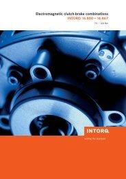 Clutch-brake combinations - Alexandris