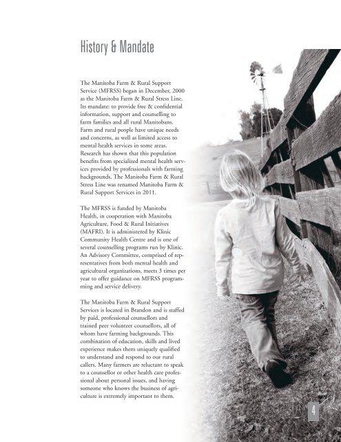 Annual Report - 2011 - Manitoba Farm & Rural Support Servic