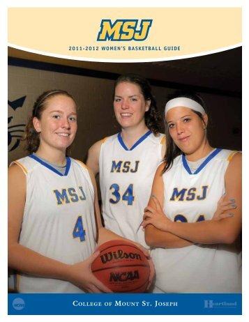 2011-2012 WOMEN'S BASKETBALL GuidE - MSJ Lions Athletics