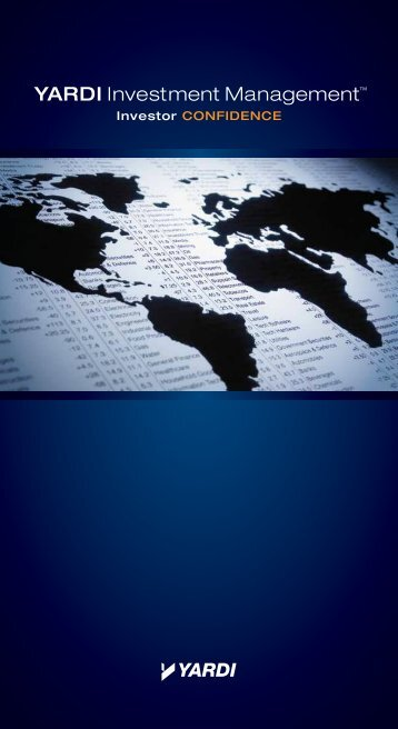YARDI Investment Management™