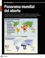 En Breve: Panorama mundial del aborto - Revista Perspectiva