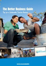 The Better Business Guide - Sustainable Tourism Online
