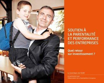 Livre blanc Filapi - Observatoire de la parentalité en entreprise