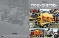TWO KINDS OF TOUGH - Concrete Equipment Inc