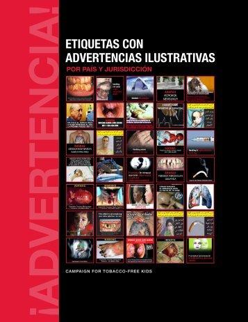 etiquetas con advertencias ilustrativas - Campaign for Tobacco-Free ...
