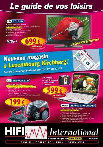Luxembourg Kirchberg - Hifi International