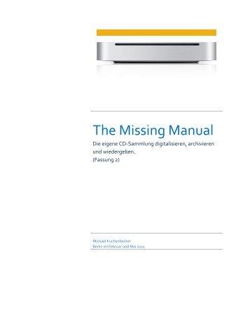 Missing Manual - Hifi und Musik