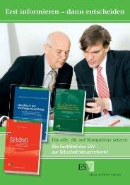 Zur Erbschaftsteuerreform - Prof. Dr. Wolfgang Baumann