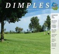 nummer 76 mei 2009 Clubblad van de Westfriese Golfclub