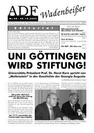 Wadenbeißer Nr. 40 vom 29.10.2002 [PDF] - ADF ...