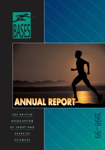 BASES Annual report 1998 - 1999