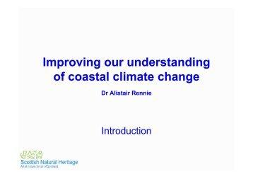 Dr Alistair Rennie - Moray Firth Partnership