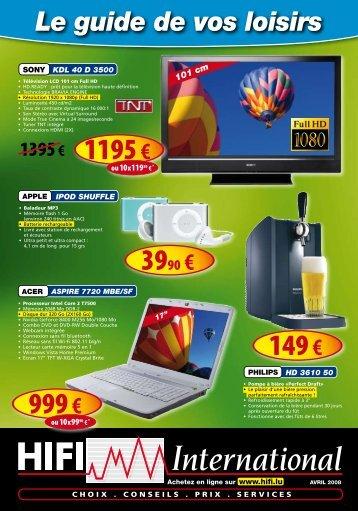 999 € 1195 € 149 € - Hifi International