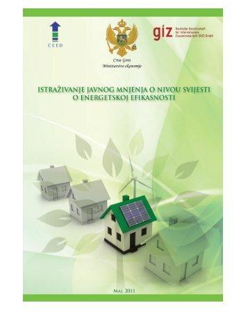 Izvještaj istraživanja - maj 2011 - Energetska efikasnost