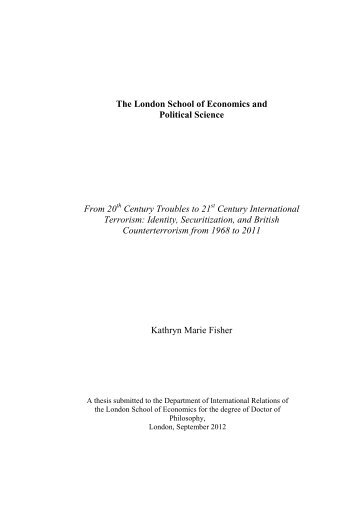 Download (6Mb) - LSE Theses Online - London School of ...