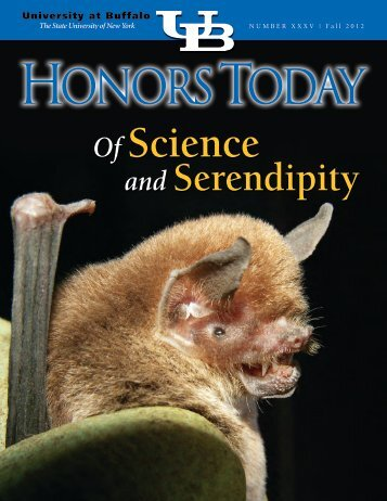 Honors Today: of Science and Serendipity - University Honors College