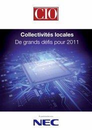 Livre blanc : Collectivités locales de grands défis pour 2011 - Nec