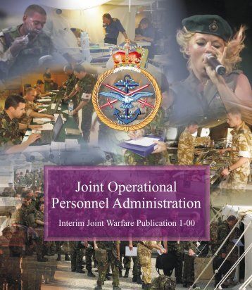 Joint Operational Personnel Administration - Integrated Defence Staff