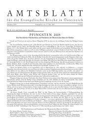 Mai 2005 - Das Evangelische Zentrum