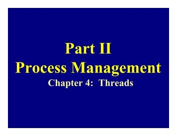 Chapter 4: Threads - CITIDEL