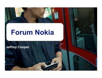 Forum Nokia - Software Ecosystems