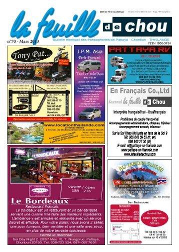n°70 - Mars 2013 - La feuille de chou