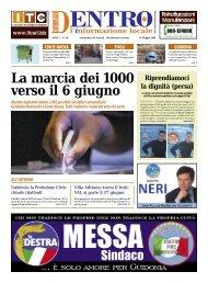 Dentro Magazine n. 18 - Maggio 2009 - La Voce del Nord Est Romano