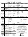 group fitness schedule - Wallingford Family YMCA - Page 2