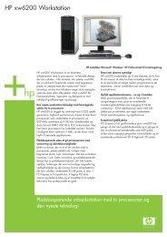 HP xw6200 Workstation