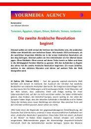 Die zweite Arabische Revolution beginnt