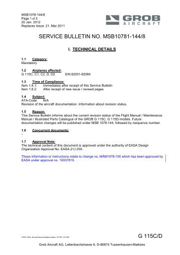 grob 115a manual