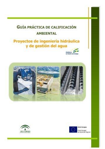 proyectos de ingenieria hidráulica y de gestión del agua