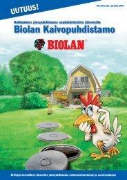 Markkinoilla syksyllä 2007 - Biolan